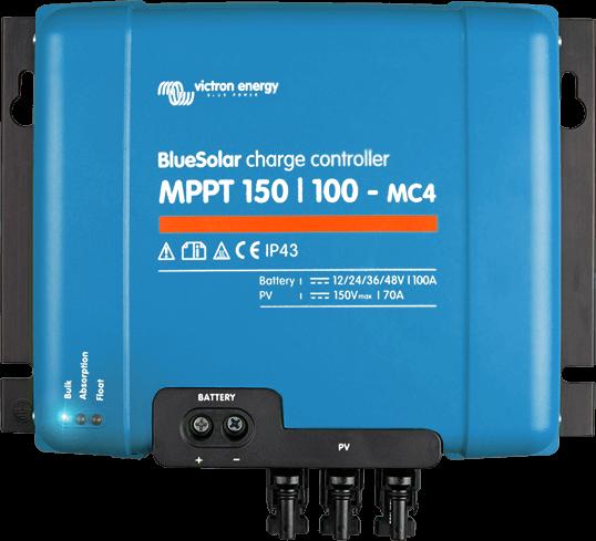 Regulador de carga Victron BlueSolar MPPT 150 100A www.suenergiasolar.com